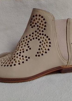 Актуальные брендовые ботинки челси из нубука san marina