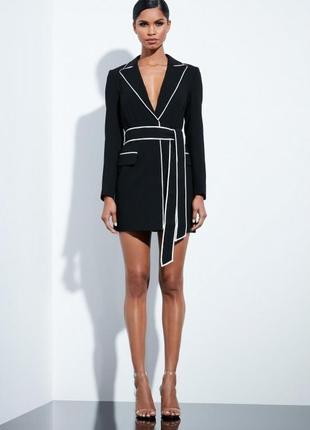 Peace + love неймовірна чорна сукня як піджак доставка сутки