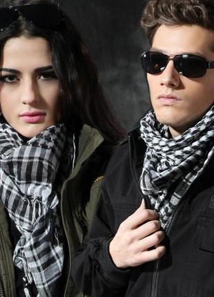 Платок шарф-арафатка 100х95см новый