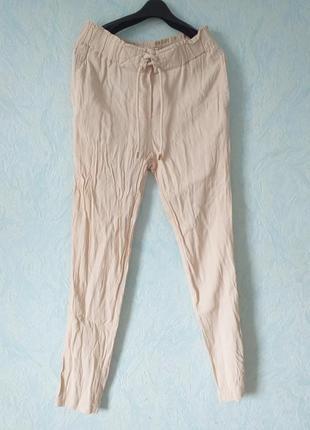 Летние брюки mango s