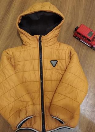 Курточка деми маломерит реально 104-110см