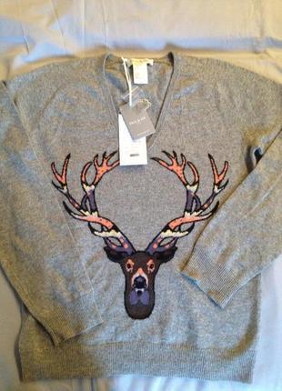 Джемпер свитер с оленем