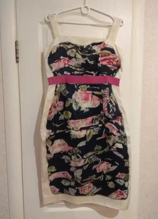 Платье dolce & gabbana оригинал.органза.шелк