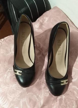 Туфли чёрные классические