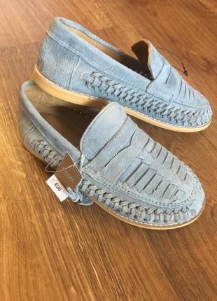 Натуральные туфли next