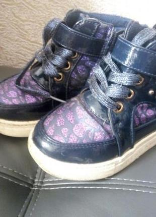 Ботинки на девочку осень-весна