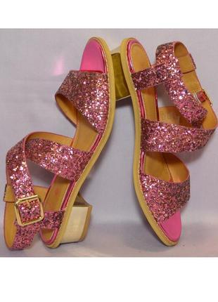 Франция оригинал! нарядные элегантные комфортные сандалии босоножки! 1000 пар обуви тут!
