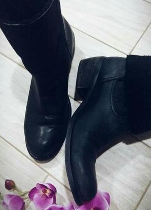 Кожаные ботинки bronx 40-41 размер