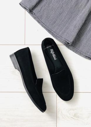 Женские туфли замша