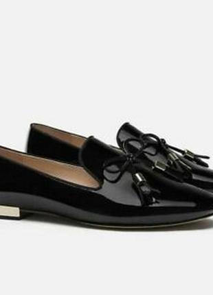 Стильные туфельки  лоферы, р.37, zara