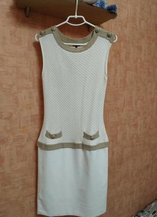 Комплект: платье+кардиган бельгийского бренда caroline biss (в стиле chanel)