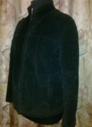 Зимне-демисез куртка conrаd usa, замша,синтеп, lр.
