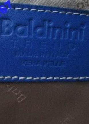 Сумка baldinini. италия. кожаная. большая. оригинал.6 фото