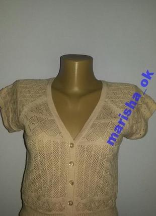Симпатичная женская футболочка на 44-46 р.