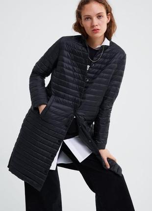 Zara куртка пуховая, пуховик, s/m/l