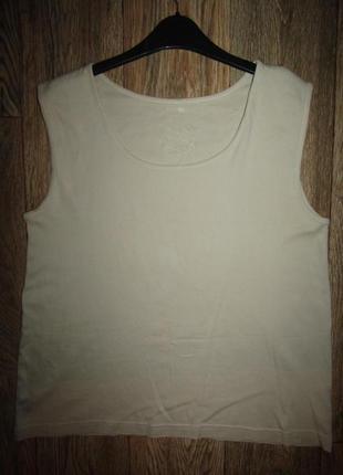 Натуральная футболка р-р 16 бренд biaggini