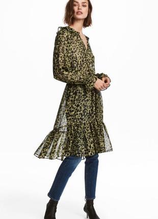 Платье с леопардовым принтом!