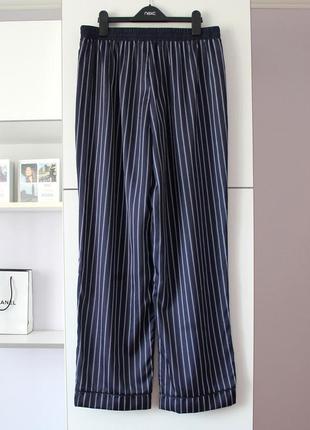 Домашние брюки в полоску от new look