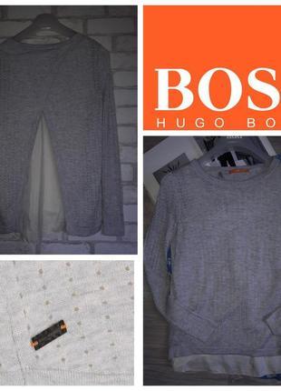 Boss orange свитерок 2 в 1 . шелк шерсть р. xs сток оригинал