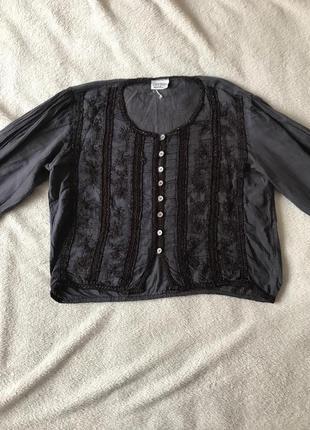 Стильна котонова рубашечка