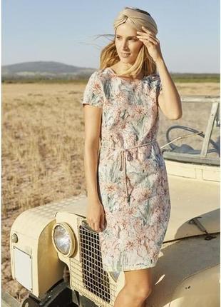 Льняное платье от esmara ( германия) , размеры евро 36, 38