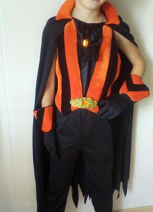 Карнавальный костюм дракула,принц на 7-11 лет