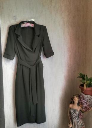 Плаття з поясом від new look