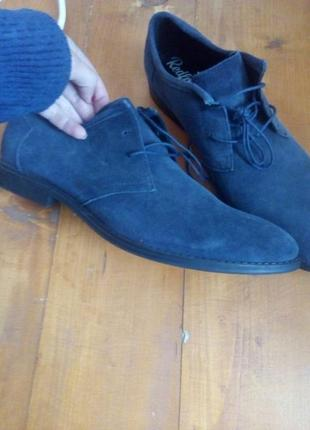 Крутые туфли новые замш индия стелька30см