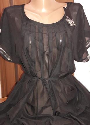 Блуза чорного кольору