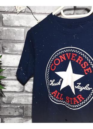 Оригинал! футболка футболочка конверс биг лого converse