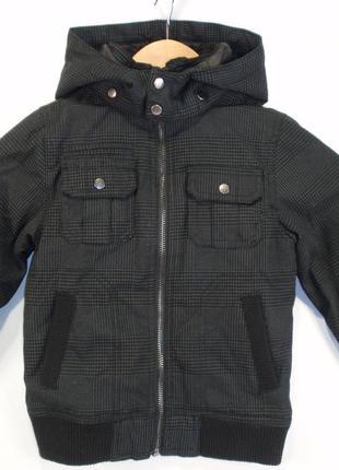 Курточка демисезонная для мальчика бренд la halle франция р. 5 лет куртка