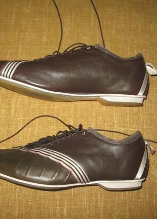 Adidas оригинал кожаные кроссовки р. 39
