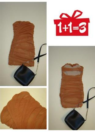1+1=3 бандажное платье бюстье rare  xxs/xs