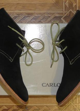 Замшевые зимние ботинки carlo pazolini{оригинал}р.40-41