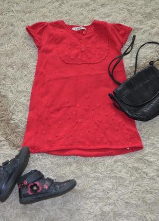 Трикотажное платье, туника на девочку george 2-3г, 92-98 см
