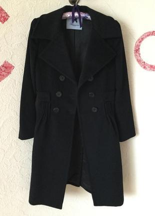 Blumarine роскошное пальто из ламы ангоры и кашемира