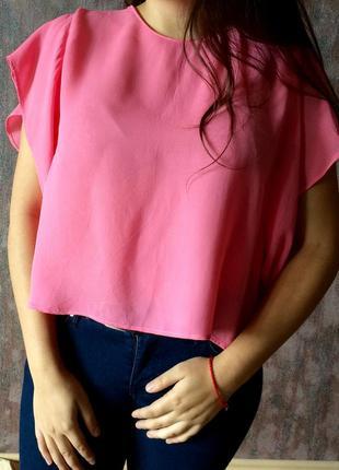 Свободная блузка zara basic