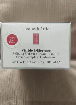 Elizabeth arden visible difference увлажняющий крем, оригинал 100мл