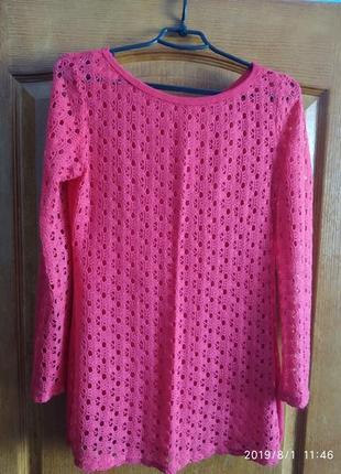 Лёгкий ажурный свитерок