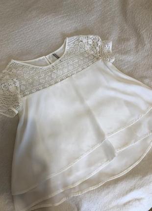 Блуза с коротким рукавом stradivarius