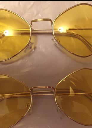 Очки с желтыми стеклами турция