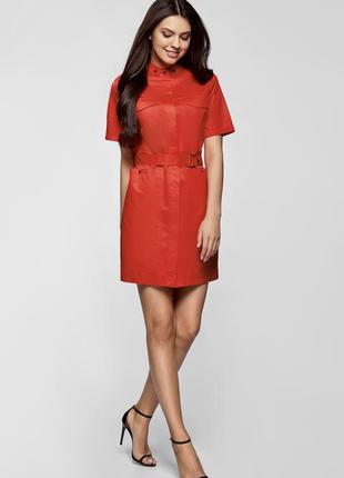 Платье-рубашка oodji