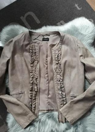 Кожаный пиджак куртка мотиви италия