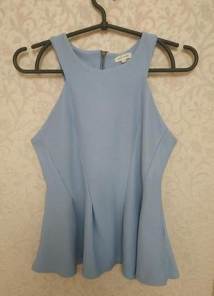 Очень красивая блуза с баской river island