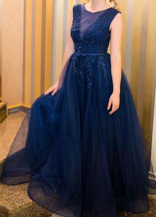 Шикарное вечернее платье от sherri hill