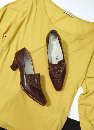 ❤️удобные кожаные туфельки
