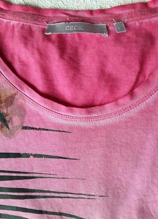 Нарядная футболка с принтом от cecil.4 фото