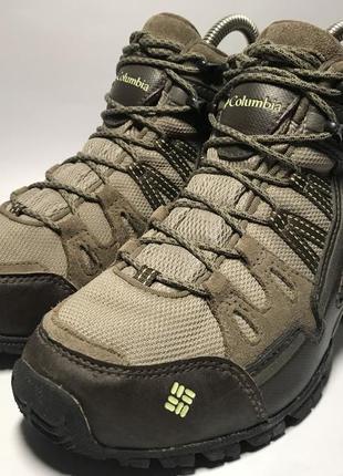Женские треккинговые мембранные ботинки columbia