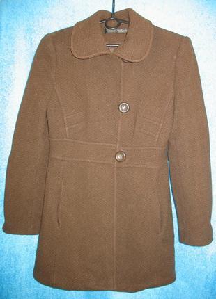 Женское пальто jane norman (можно девочке-подростку), 70% шерсть, 44 р