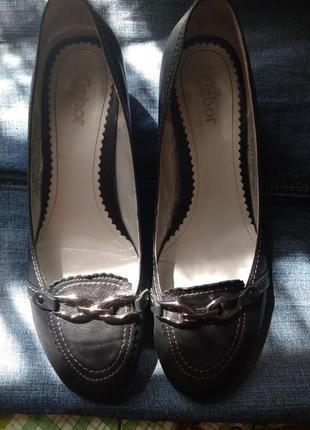 Балетки туфли gabor нат.кожа большой размер